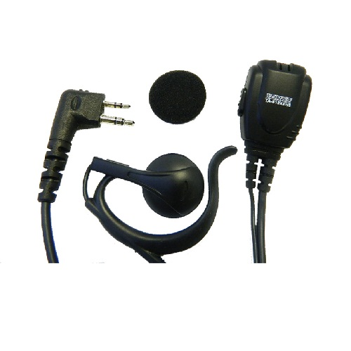TA-819X Earhook Speaker with Lapel Microphone and PTT